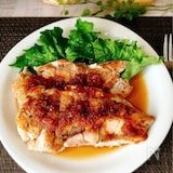 鶏むね肉のソテー♪玉ねぎポン酢ソース