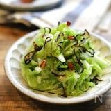白菜大量消費★『塩もみ白菜の塩昆布和え』