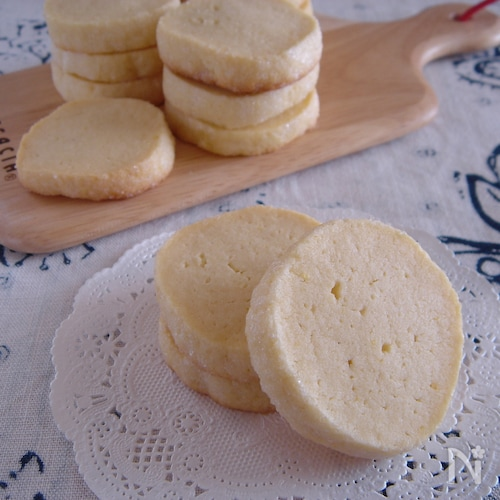 型抜き不要!クリームチーズクッキー。