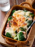 ブロッコリーの味噌マヨグラタン【#ホワイトソース不要】