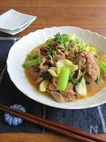スタミナたっぷり☆ごはんがススム◎豚と野菜の辛みそ炒め
