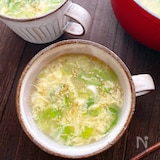 3分でできる基本のふわふわ卵スープ!