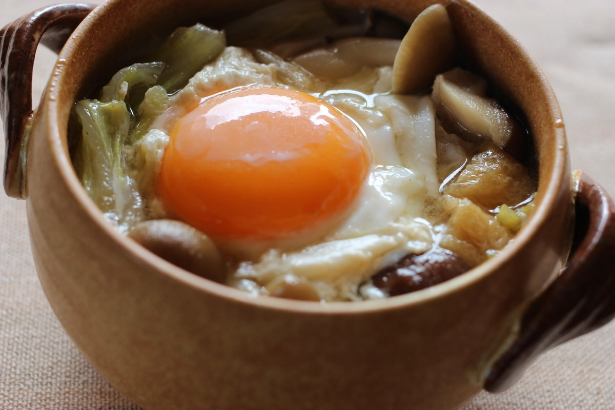 とろ〜り半熟!「白菜ときのこと豚バラのクタクタ煮」