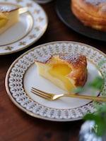ぐるぐる混ぜる簡単生地。冷やしていただくヨーグルトケーキ