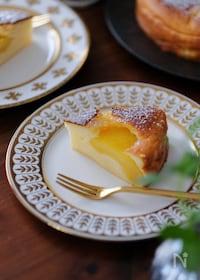 『ぐるぐる混ぜる簡単生地。冷やしていただくヨーグルトケーキ』