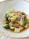 青梗菜とエリンギのツナ和え(レンチン)
