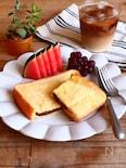 トースターで!粒粒チョコのフレンチトースト