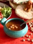 断食明けのスープ*ひよこ豆とトマトのハリラ
