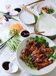 旨すぎる!鶏もも肉で北京ダック風【おもてなし・お弁当にも】