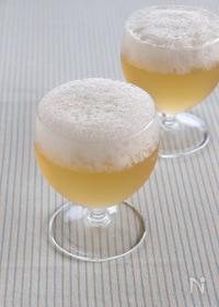 『ビールみたいなジンジャエールゼリー』