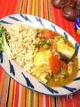 野菜たっぷり豆腐ココナッツイエローカレー
