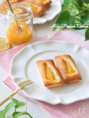 トロ~り激ウマ♡マンゴーフィナンシェ♪缶詰使用で超簡単!