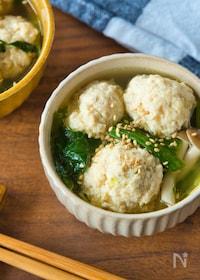 『下味冷凍で!肉団子スープ』