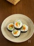 夏野菜の韓国風海苔巻き