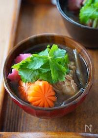 『【定番・北海道風】年中食べたい♪甘辛・具沢山のお雑煮』