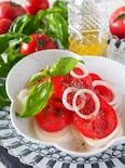 【ドレッシング黄金比】トマトと新たまねぎのシャキッとサラダ