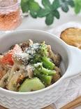 サバ缶と野菜のマヨバタ・こしょう風味