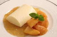 あのファミレスの味!桃とババロア