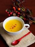 初恋を散りばめた南瓜とトウモロコシのスープ(ラブストーリー食