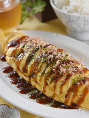 トロ~リチーズのとん平焼き