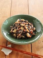 ひじきと蒸し大豆のごまマヨサラダ
