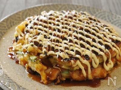 レシピ お好み焼き