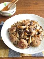 おうちで簡単イタリアン♪手作りサルシッチャときのこソテー