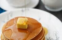 パン初心者も失敗なし!もっちりイーストパンケーキ(卵あり)