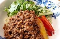 肉みそたっぷりジャージャー麺