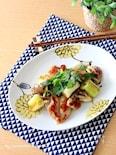 鶏肉と長葱の柚子胡椒炒め