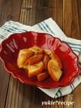 りんごとアーモンドのココナッツオイルソテー