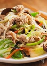 『肉野菜炒め』