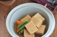 【基本の和食】高野豆腐の煮物