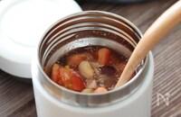 栄養たっぷり!さっぱり♡トマトとツナとお豆の冷製スープ