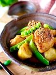 【ご飯がススム】クセになる甘辛さ*新じゃがと鶏肉の韓国風炒め