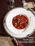 豚肉と豆のトマトワイン煮