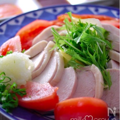 超簡単な鶏ハム☆調味料は砂糖と塩だけで思い立ったらすぐ出来る