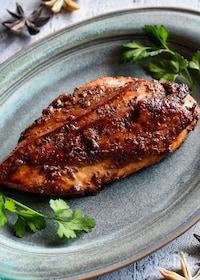 『鶏むね肉の中華風照り焼き【下味冷凍OK】』