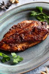 鶏むね肉の中華風照り焼き【下味冷凍OK】