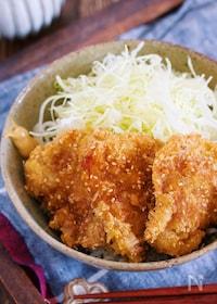 『マヨ衣で超簡単!サクサク&お肉柔らか♪『ソース紙カツ丼』』