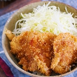 マヨ衣で超簡単!サクサク&お肉柔らか♪『ソース紙カツ丼』