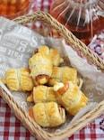竹輪ととろ~りチーズのサクサクパイ