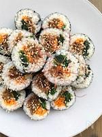 節分にも!焼肉のたれで作るお手軽キンパ(韓国風海苔飯)