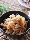 お弁当にも♡シャキッと美味しいひき肉ともやしのオイマヨ炒め