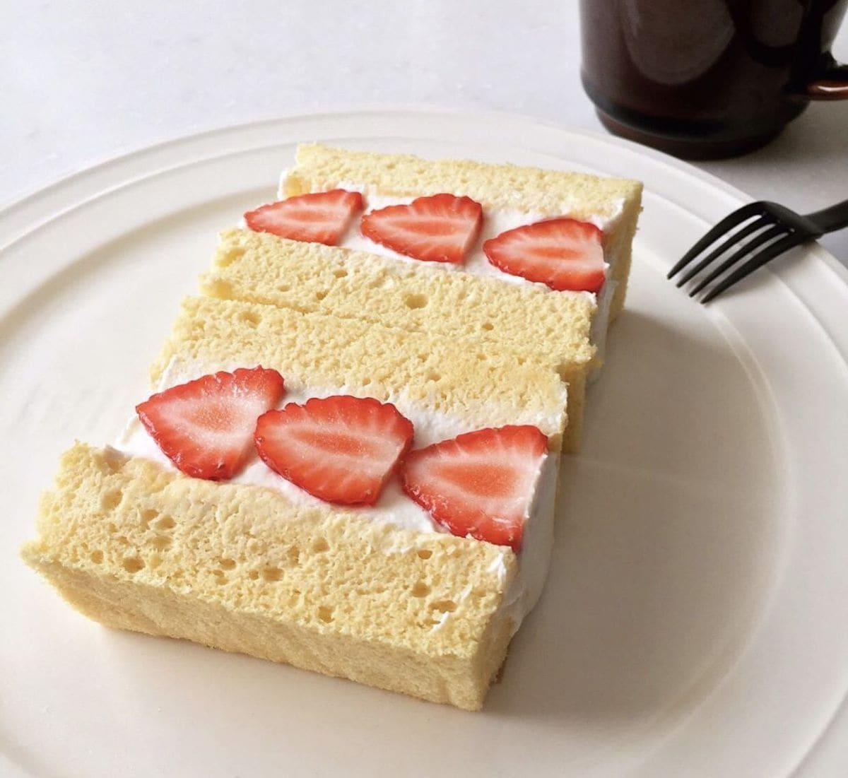 ケーキ 美味しい スポンジ
