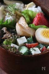 豆かまのコロコロサラダ