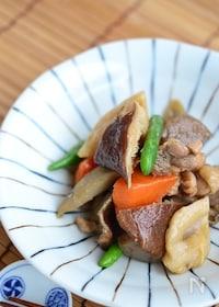 『鶏ごぼうの煮物【作りおき】』