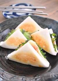 『はんぺんの明太チーズはさみ焼』
