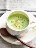 苦味なし♡栄養満点♪小松菜とほうれん草のスープ
