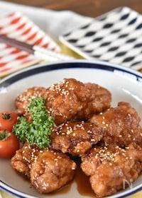 『家庭料理の定番♪鶏のからあげ甘酢だれ【冷凍・作り置き】』